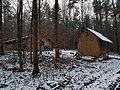 Hütte im Wald zwischen Hochhausen und Tauberbischofsheim neben der Panzerstraße - 2.jpg