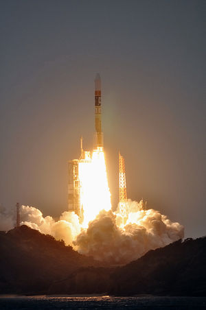 Japan's space development - Launch of the Japanese rocket H-IIA