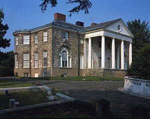 The Woodlands (Philadelphia) - Woodlands Mansion