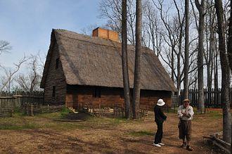 Henricus - Reconstructed settler's house