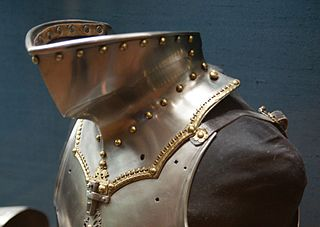 Bevor Plate armour for the neck and chin
