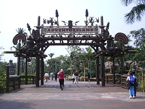 Adventureland (Disney) - Adventureland at Hong Kong Disneyland