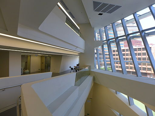 HKPU Innovation Tower Common area atrium 201403