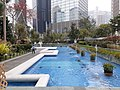 HK 中環 Central 遮打花園 Chater Garden 水池 water pool fountain March 2020 SS2 01.jpg