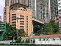 HK Happy Valley Recreation Ground view Leighton Hill Bridge 2.JPG