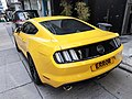 HK SW 上環 Sheung Wan 太平山街 Tai Ping Shan Street yellow parking Ford June 2020 SS2 02.jpg