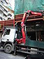 HK Sai Ying Pun Western Street construction site mobile Crane July-2012.JPG