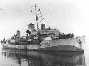 HMCS Algoma - Image: HMCS Algoma