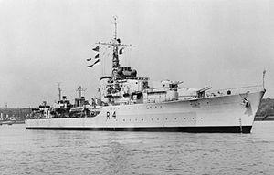 HMS Armada (D14) - Image: HMS Armada