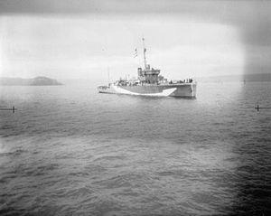 HMS Hastings (L27) - Image: HMS Hastings