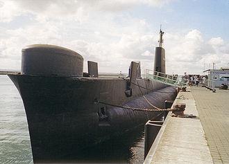 Oberon-class submarine - Image: HMS Otus 1