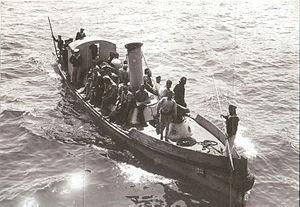 Ship's boat - Image: HMS Triumph picket boat