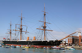 HMS Warrior in 2009