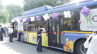 2010 Commonwealth Games - HOHO Delhi Bus Inauguration in Delhi