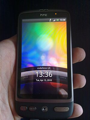 HTC Desire introduced in its owner palm