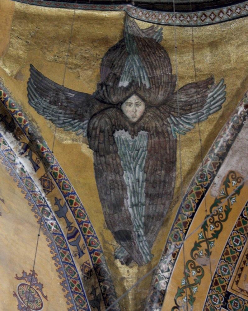 Hagia Sophia Archangel with face