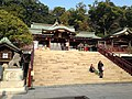 Haiden of Suwa Shrine.JPG