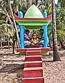 Half size statue of Melam Balarama Krishna.jpg