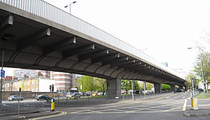 A4 road (England) - Hammersmith Flyover