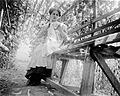 Handcraft, garden, bower, bench, woman, portrait, summer Fortepan 2339.jpg