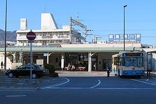 Shukugawa Station Railway station in Nishinomiya, Hyōgo Prefecture, Japan