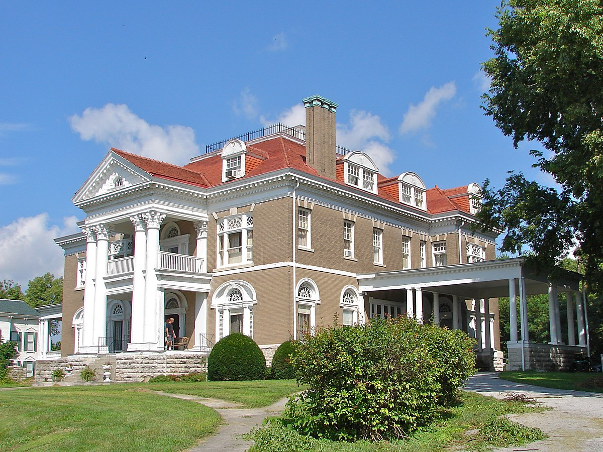 Rockcliffe mansion wikipedia for Home builders missouri