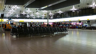 Hannover Airport - Check-in area