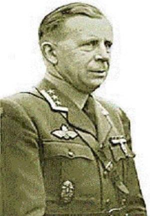 Hans Reidar Holtermann - Holtermann as an oberst in 1945