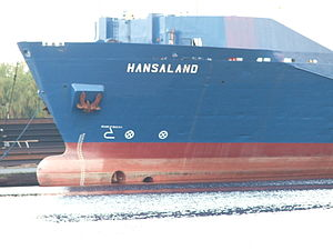 English: RoRo Vessel Hansaland