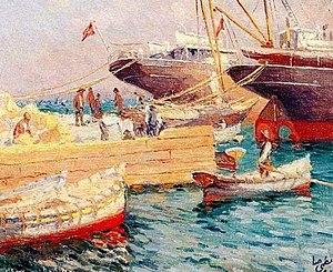 Nazmi Ziya Güran - Image: Harbor Guran