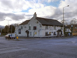 Lowton - Image: Hare and Hounds, Lowton (geograph 2816581)
