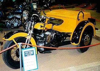 Harley-Davidson Servi-Car - Early Servi-Car with springer forks