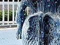 Harmon Park Garden fountain (detail of base), Kearney, NE.JPG