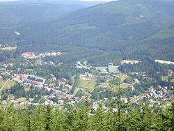 Harrachov - panorama z góry.JPG