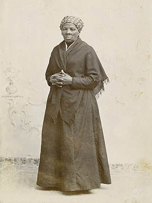 Harriet Tubman - Image: Harriet Tubman by Squyer, NPG, c 1885