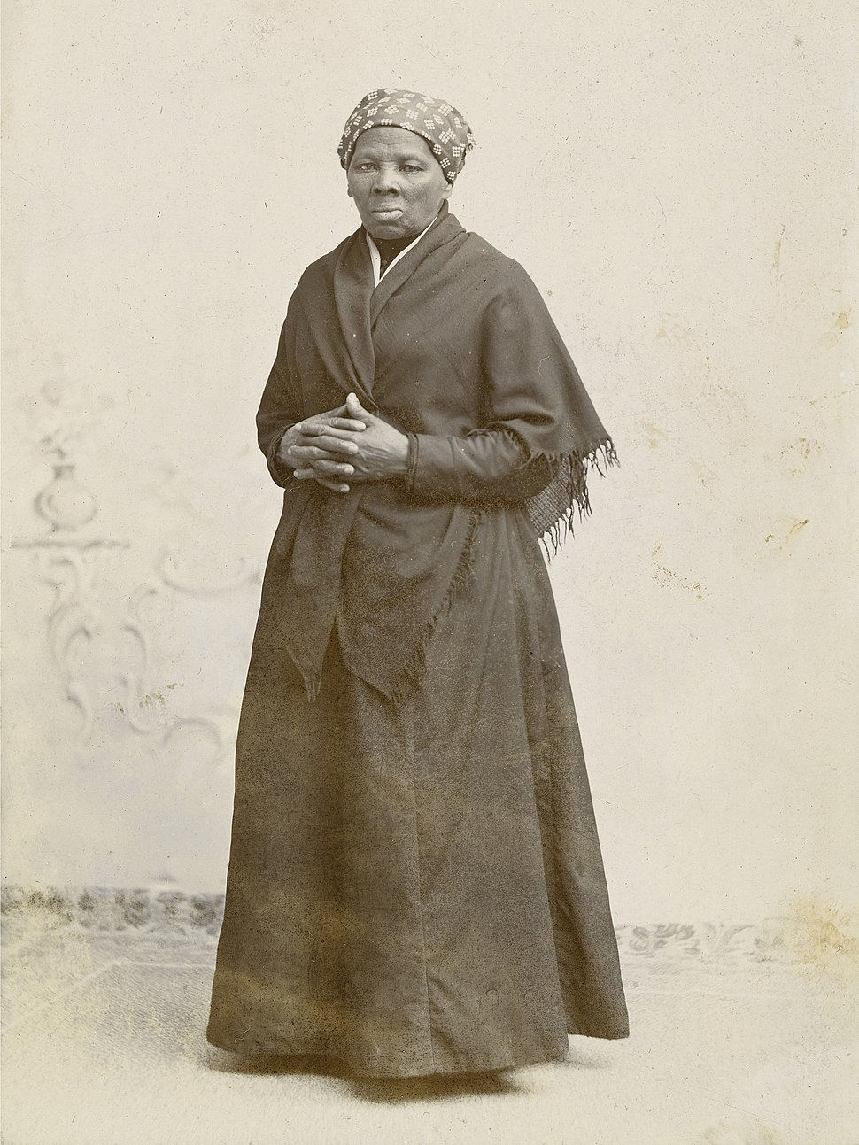 Harriet Tubman by Squyer, NPG, c1885