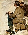 Harvey - two-seated-men-study-for-the-covenanters-baptism-1830.jpg