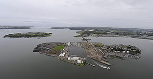 Haulbowline - Image: Haulbowline Cork Harbour 2014 01 30 23 17