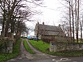 Hauxley Farmhouse Wall And Attached Outbuildings.jpg