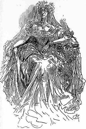 Miss Havisham - Miss Havisham, by Harry Furniss