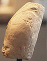 Head of Statuette of Pharoah Khufu - Left Side - 4th Dynasty - ÄS 7086.jpg