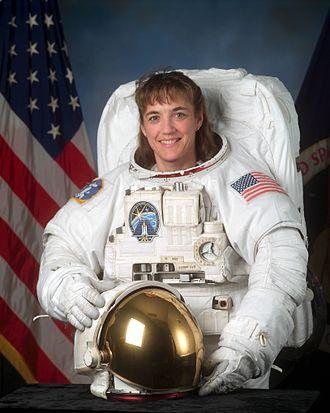 Heidemarie Stefanyshyn-Piper - Image: Heidemarie Stefanyshyn Piper in white space suit