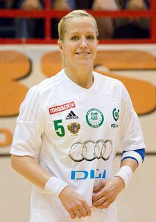 Heidi Løke Norwegian female handball player