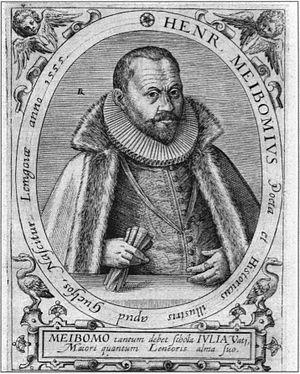 Heinrich Meibom (poet) - Heinrich Meibom.