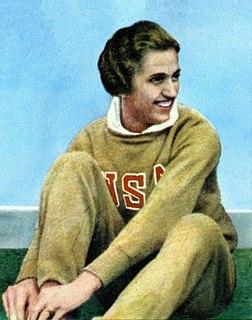 Helen Stephens American athlete