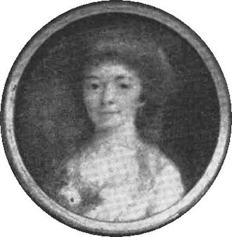 Helena Quiding - Helena Quiding in circa 1790, by the time she was the object of Bellman's poems.