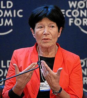 Helga Nowotny Austrian sociologist