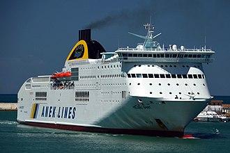 ANEK Lines - Image: Hellenic Spirit (ANEK Lines) 2011
