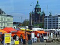 Helsinki - Eteläranta Södra Kajen - Marketplace - Uspensky Cathedral in the background - Marketplace - Uspenskin katedraali taustalla - panoramio.jpg