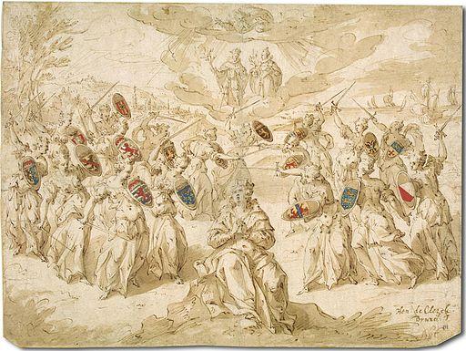 Hendrick de Clerck - Allegory of the Twelve Years' Truce
